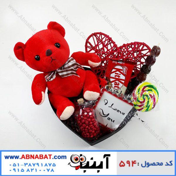 پک هدیه ویژه ولنتاین کد 594