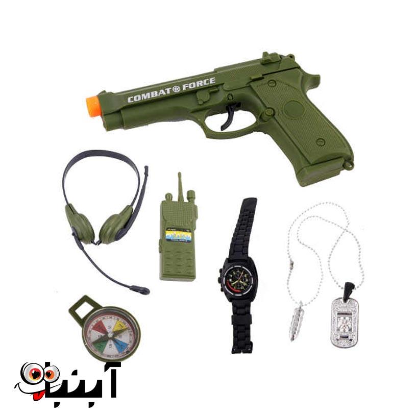 تفنگ و وسایل نظامی