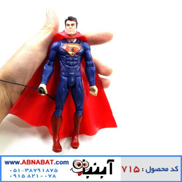 اکشن فیگور سوپرمن کد 715
