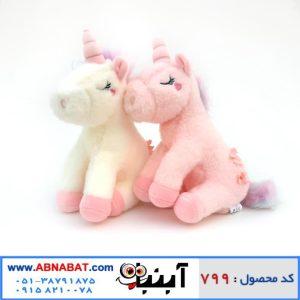 عروسک اسب تک شاخ Flower unicorn