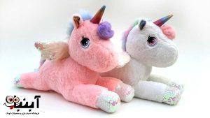 خرید اینترنتی انواع عروسک اسب تک شاخ Unicorn