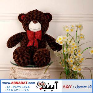 عروسک خرس خارجی قهوه ای