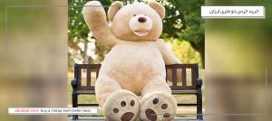 خرید خرس دو متری ارزان قیمت